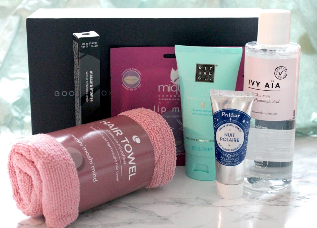 Goodiebox lokakuun tuotteet